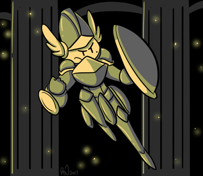 Sepia Shield by pickles-4-nickles