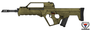 Fictional Firearm: HC-112 Assault Rifle by CzechBiohazard