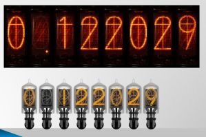 Nixie Clock by klex-ur
