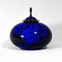 Crystalline Glaze Blue Black 1 by Jess-Wiseman