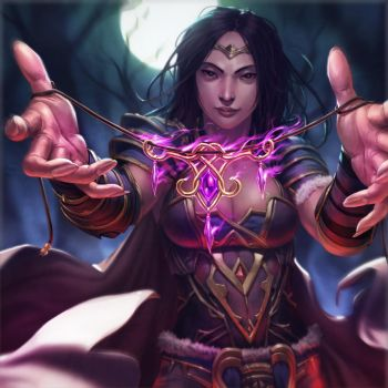 LON Gift of Magus by dcwj