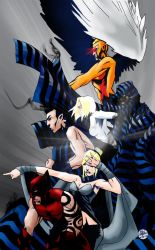 Dark X-Men by ajaxone