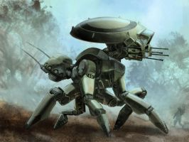 Scout Mech by chukw