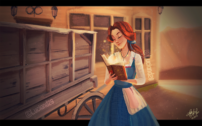 Belle from Beauty and The Beast 2017 by Luciand29