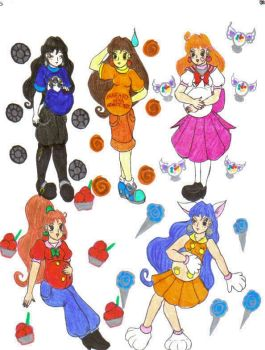 DBCDude01's Pretty Cure by Winter-Colorful