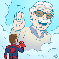 Stan Lee Tribute by DiegoMends
