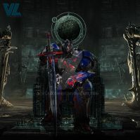 Transformers 5 - Optimus, King of the Knights by Lazlow007