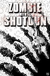 Zombie With A Shotgun #2 cover by IanJMiller