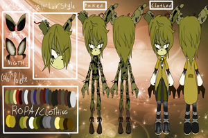 Reference  Springtrap The Animatronic Rabbit by shasted