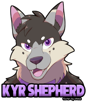Kyr Shepherd Badge by faster-by-choice