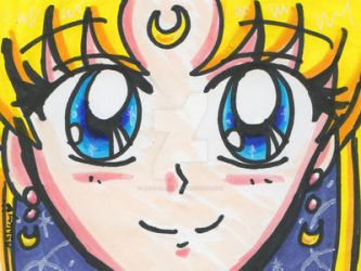 Sailor Moon Crayola Super Tips-Sharpie Doodle by Magical-Mama