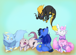 PKMNation (comm): Stargazer babes by Nefepants
