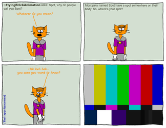 Dan Comics No.13 - Ask Dan! 5 by The-Happy-Spaceman