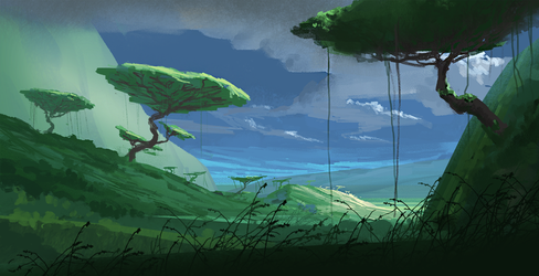Environment sketch by fabianrensch