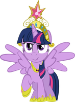 Alicorn Twilight Sparkle by KindlyViolence