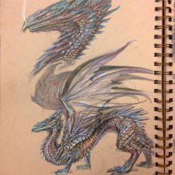Metallic Dragon by atomsanddust