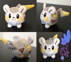 Togedemaru Pokemon Plush! 4''
