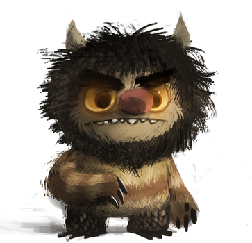 DAY 324. Quick 15 minute doodle by Cryptid-Creations
