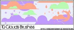 Clouds Brushes by pinkshadoww