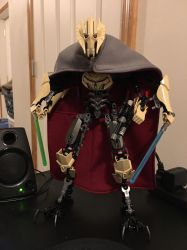 Lego CCBS General Grievous Improved by ToaAntan