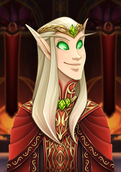 young blood elf by Tintariel