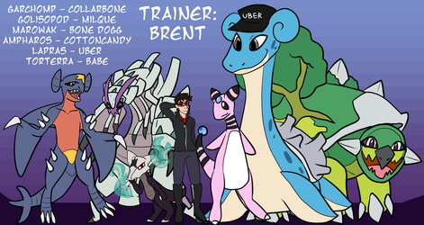 ultra moon team by brentsquared