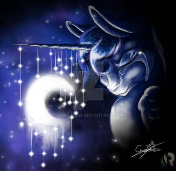 Luna's Cry by cune-roos