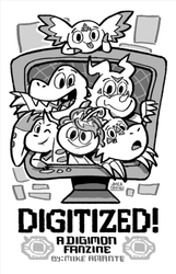 Digimon Fanzine by jmamante02