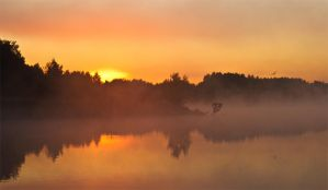 The Beginning Of A New Day by DeingeL