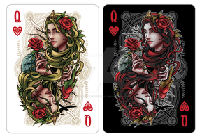 Queen Of Hearts - Gaia by CostaPantazisOffical
