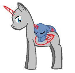 OLD!!!!  Base - Stallion and filly by Lolzeehbases