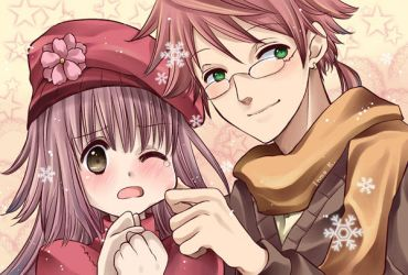 Winter photo of us by inma