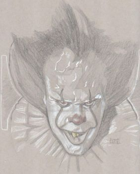 Pennywise by Dynamic-Illustration