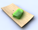 Soap on bamboo soap dish by IxoliteFH