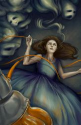 .Alice Smoking Opium. by Lii-chan
