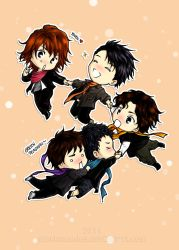 Chibi KAT-TUN: Happy New Year 2012 by stephmendes