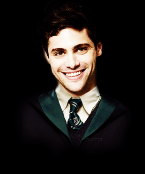 Matthew Daddario as Slytherin by PoketJud