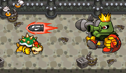 Bowser vs Smithy by Re-evolution360
