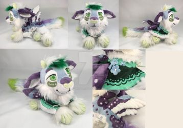 Periwinkle the Pouflon Plush by WhittyKitty