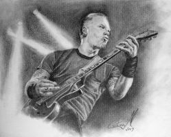 James Hetfield by CrisMarVaz