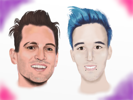 Brendon and Frank by shiverwings