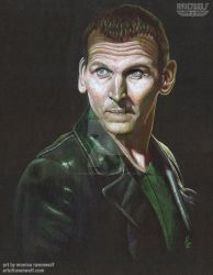 The 9th Doctor -Christopher Eccleston by The-Art-of-Ravenwolf