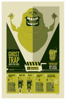 3G: ghostbusters poster by strongstuff