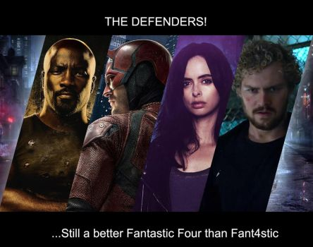 The Defenders Are A Better Fantastic Four by Mangetsu20