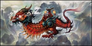 Riding Clouds by liuhao726