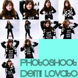 #2 Photoshoot Demi Lovato by SilvanaAgusTutos
