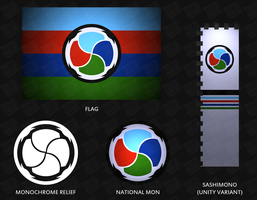 Taishu Nation - Symbol Overview by AkarukageStudios