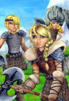 The fearless Astrid Hofferson by grim1978