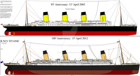 RMS Titanic 100th Anniversary by Fallout-Brony