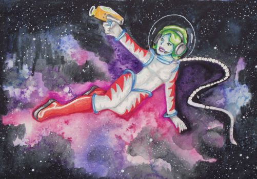 Space chic by astraldreamer